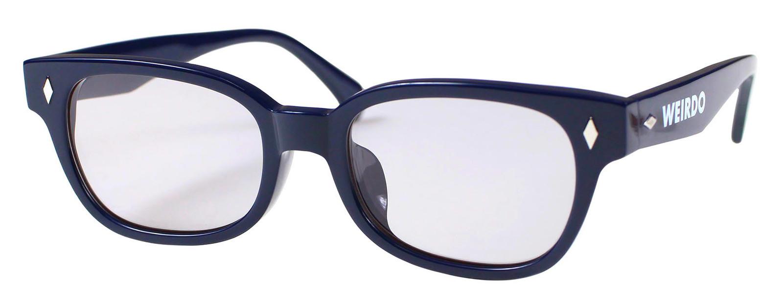 0eb5dcac783c ウィアード 小物 メンズ レディース サングラス WEIRDO [-FREAKY RIDERS - GLASSES- NAVY×GRAY