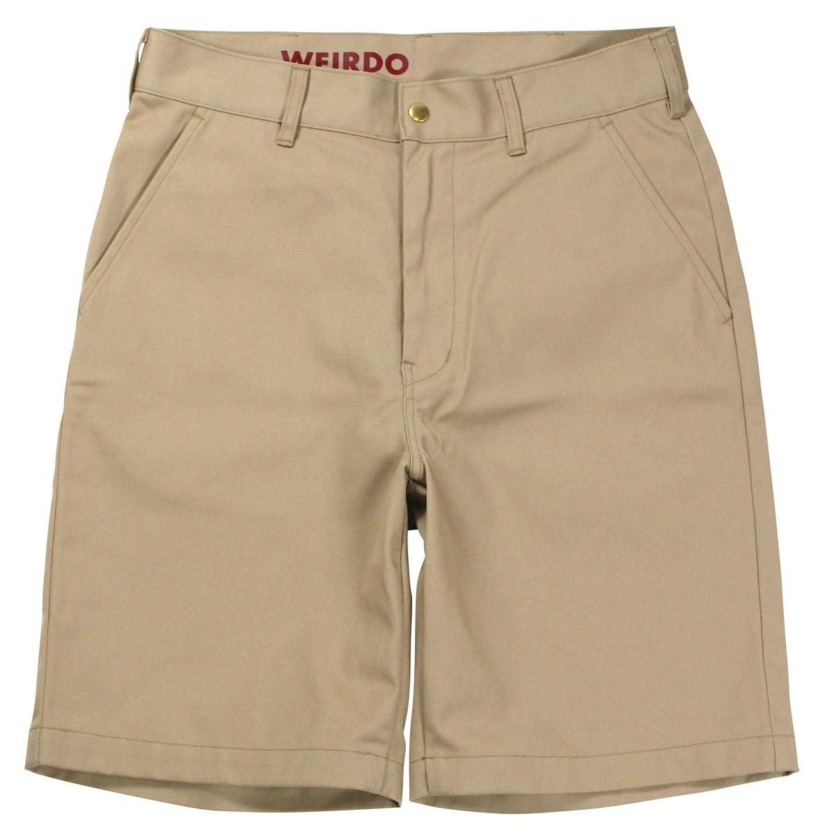 WEIRDO [-W & L UP - SHORTS- BEIGE size.30,32,34,36]