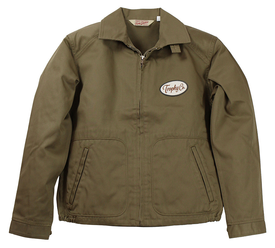 TROPHY CLOTHING [-Gas Worker Jacket- Beige size.36,38,40,42]