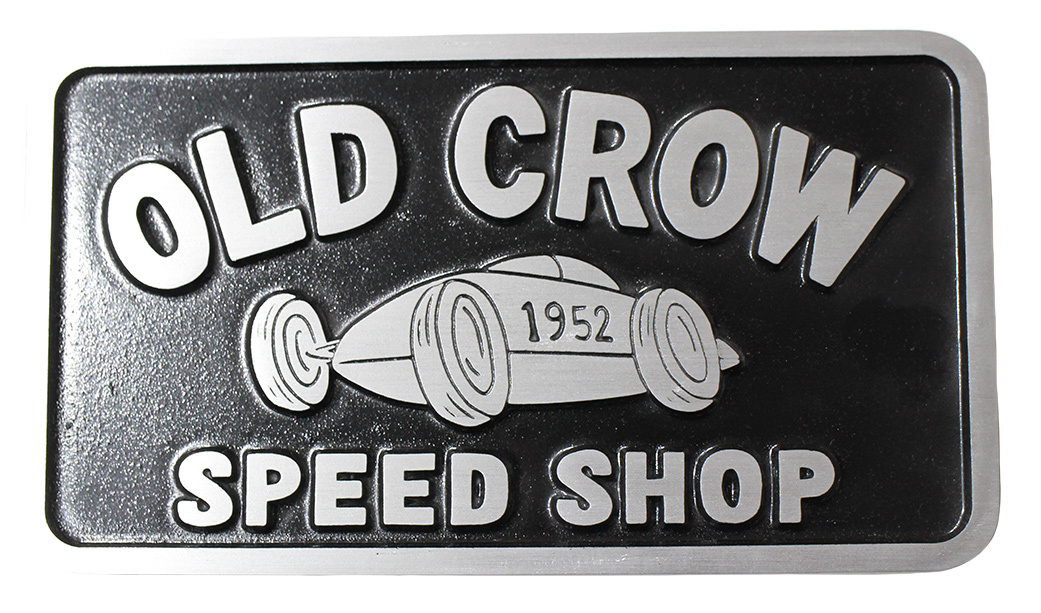 OLD CROW [-BELLY TANK - PLAQUE-]