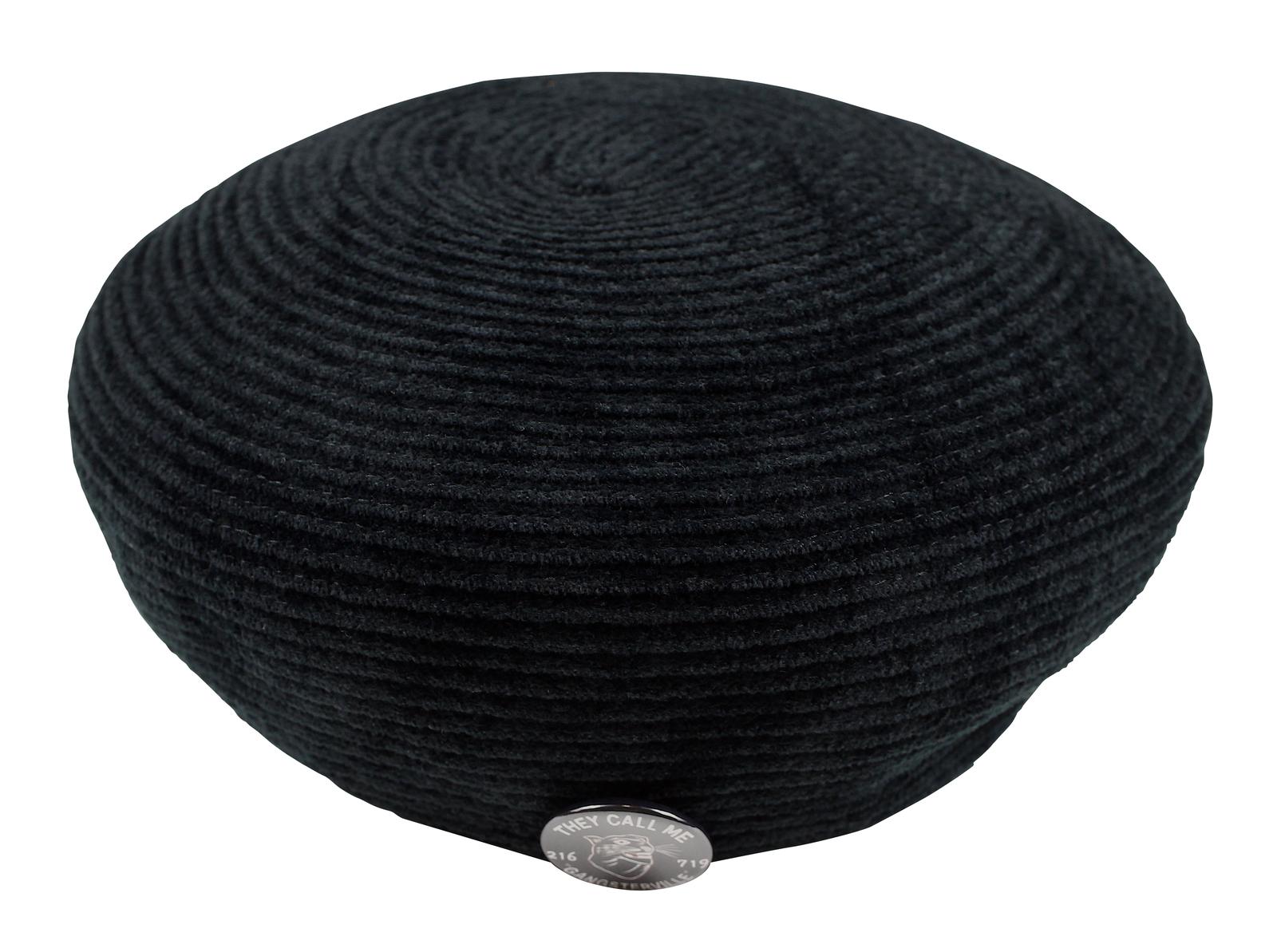 GANGSTERVILLE [-BLACKSVILLE - BERET- BLACK size.M,L]