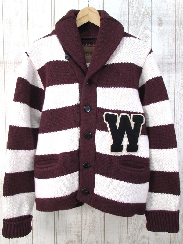 【中古】WEIRDO WRD-14-AW-09 ウィアード カウチン カーディガン ジャケット【ファッション】※2018年8月入荷※
