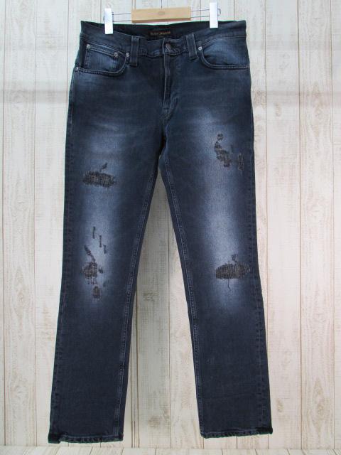 【中古】Nudie Jeans THIN FINN ヌーディージーンズ デニム パンツ【ファッション】※2018年10月入荷※
