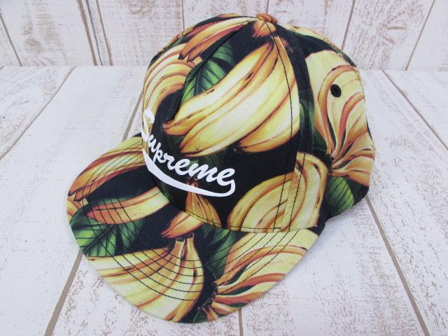 中古 営業 Supreme 16SS 激安通販ショッピング BANANA キャップ シュプリーム ※2019年1月入荷※ CAP 帽子