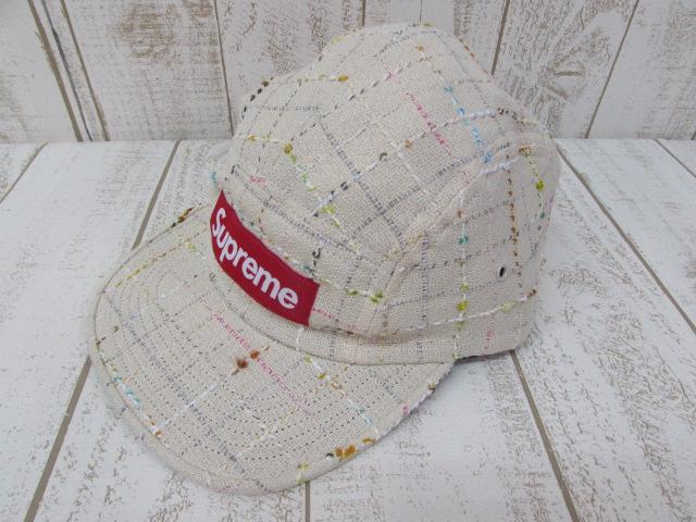 【中古】Supreme 18aw Boucl Camp Cap シュプリーム キャップ【帽子】※2019年1月入荷※