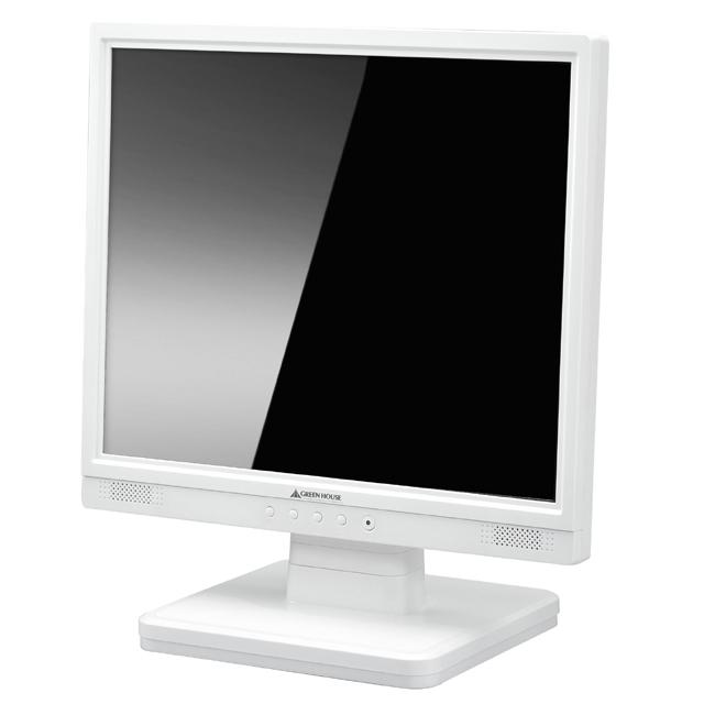 GH-JFG173GSDW(17インチ硬化ガラスフィルタ搭載液晶ディスプレー)【グリーンハウス】