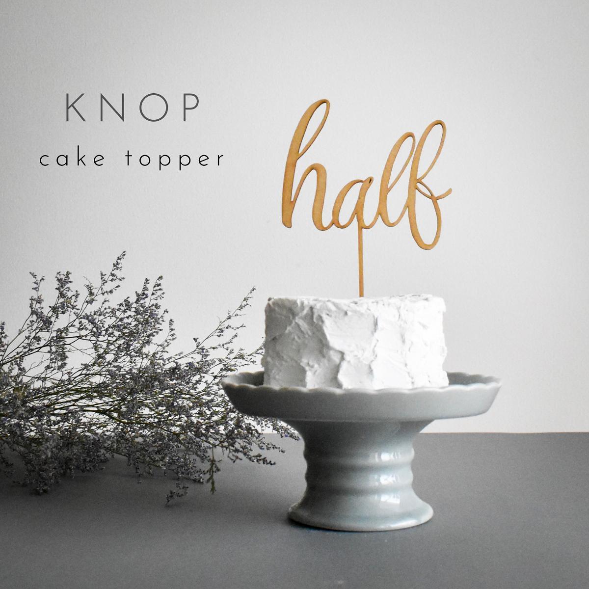楽天市場 Knop 木製 ケーキトッパー Half 数字 6ヶ月 ハーフバースデー 誕生日 バースデー 赤ちゃん 子ども 初めて 記念日 デコレーション お祝い ガーランド 記念写真 テーブルナンバー おしゃれ ナチュラル フラワーピック knop