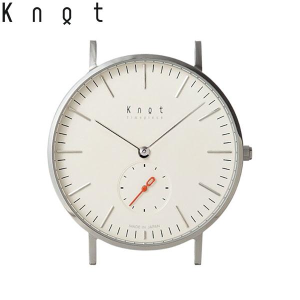 """【ギフト包装無料】Knot(ノット)""""クラシック スモールセコンド""""シルバー & アイボリー時計本体のみ(ベルト別売り)腕時計/メンズ/レディース/サファイアガラス/日本製/MADE IN JAPAN/【ギフト】"""