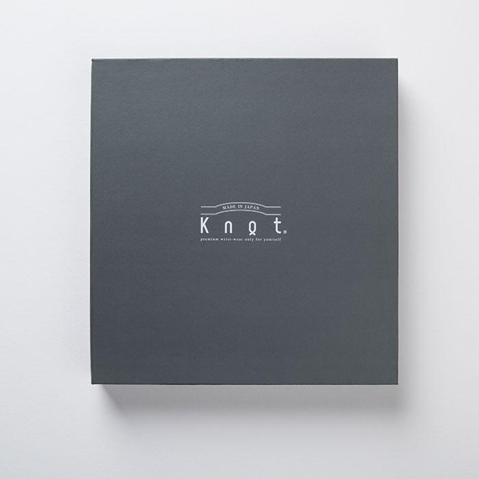 """【ギフト包装無料】Knot(ノット)""""カスタマイズギフトボックス"""" グレー(時計1個収納可能)【ギフト】"""