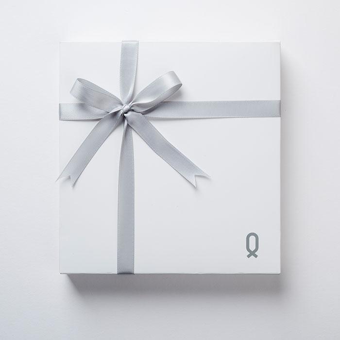 """【ギフト包装無料】Knot(ノット)""""カスタマイズギフトボックス"""" ホワイト(時計2個収納可能)【ギフト】"""