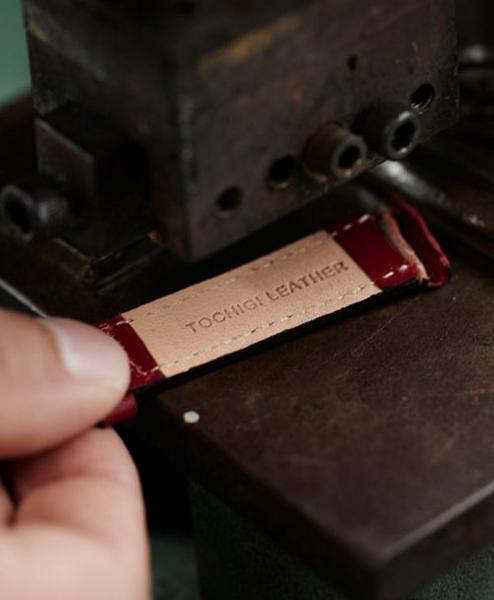 Knot(ノット)栃木レザーベルト トラディショナルシェイプ 替えベルトオーク & イエローゴールドバックルベルトのみ購入はメール便のため代引き・着日指定・包装は不可ベジタブルタンニンレザー/牛革/ヌメ革/日本製