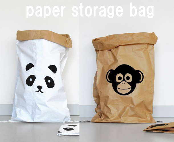 Paper Bag Animal (paper Bag Animal Series) Interior Storage Bag Storage Bag  Storage Bag