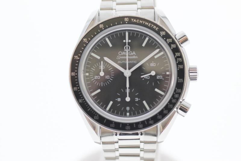 【中古】OMEGA オメガ スピードマスター オートマチック 3539.50 黒文字盤 自動巻き USED-AB メンズ 腕時計 クロノグラフ m19-1200300925800018
