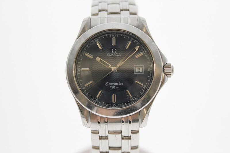 【中古】OMEGA オメガ シーマスター 2511.81 青文字盤 クオーツ USED-B メンズ 腕時計 m19-1200300925800020