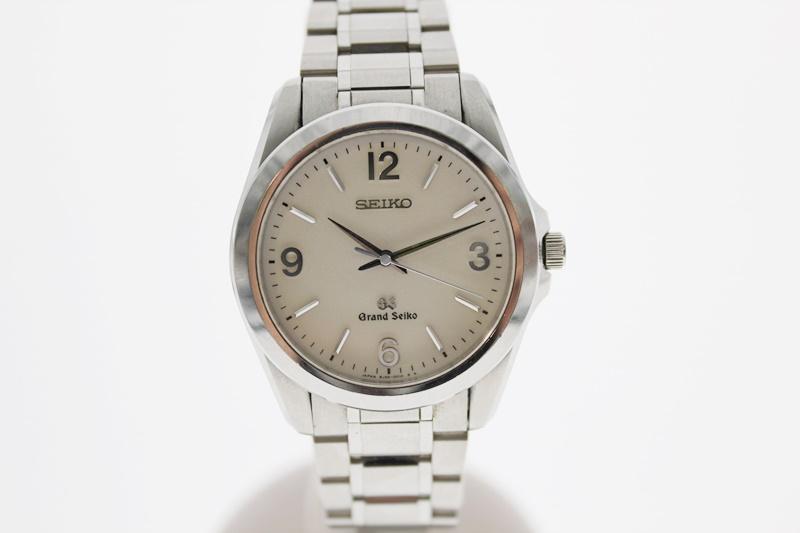 【中古】グランドセイコー クオーツ USED-B メンズ 腕時計 白文字盤 m19-1200306925800033