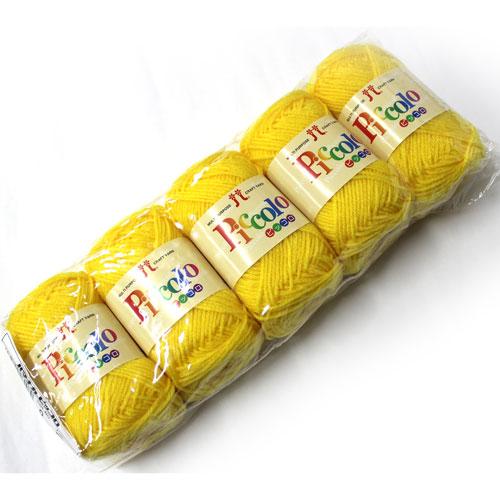 往復送料無料 アクリル100%の手芸用中細タイプ 袋販売 ハマナカ毛糸 上等 ハマナカ 5玉入 ピッコロ ページ3