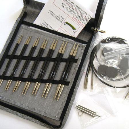 ニットプロ カーボン 付け替え輪針デラックスセット