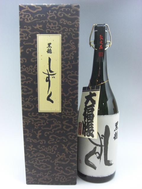 黒龍 大吟醸 しずく 日本酒 1800ml 2019年詰