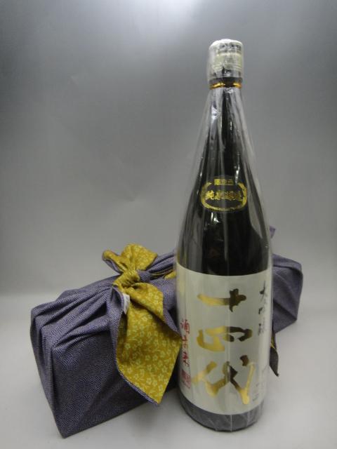 十四代 純米大吟醸 酒未来 日本酒 1800ml 2019年3月詰 風呂敷包み