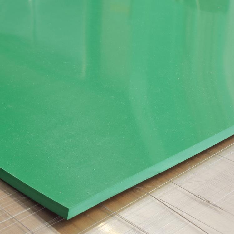 カラーゴムシート(ゴムマット)厚さ5ミリ×幅1M×長さ1M60CM(緑)