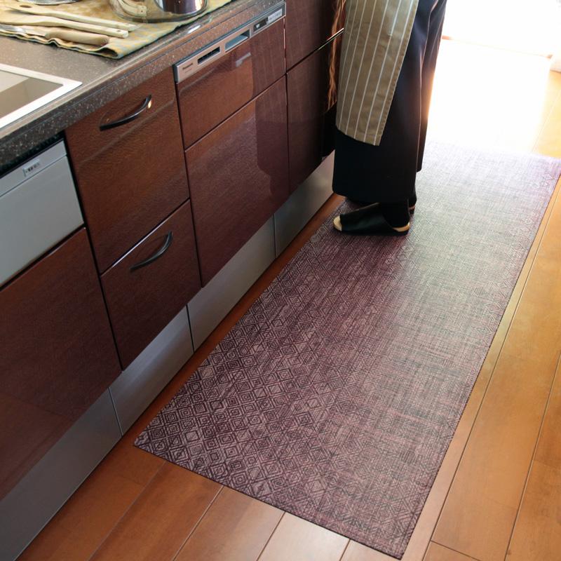 チルウィッチ キッチンマット Woven Mosaic 66×183cm
