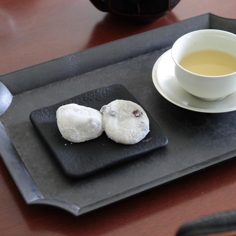 FUTAGAMI (フタガミ) 鋳肌トレイ 角 黒ムラ
