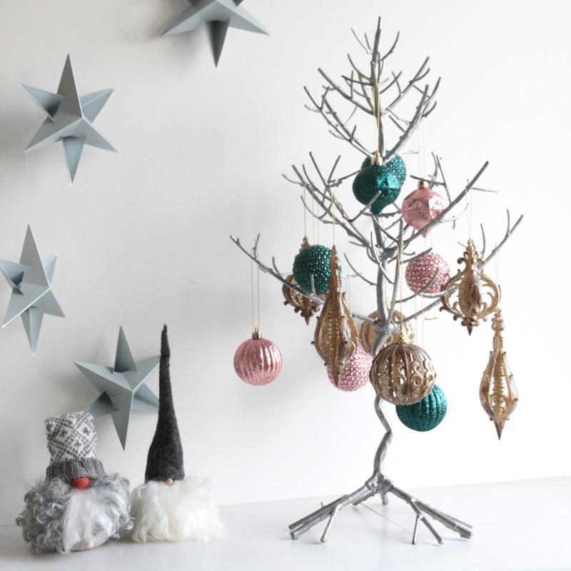 トゥイッグクリスマスツリー シルバーセット