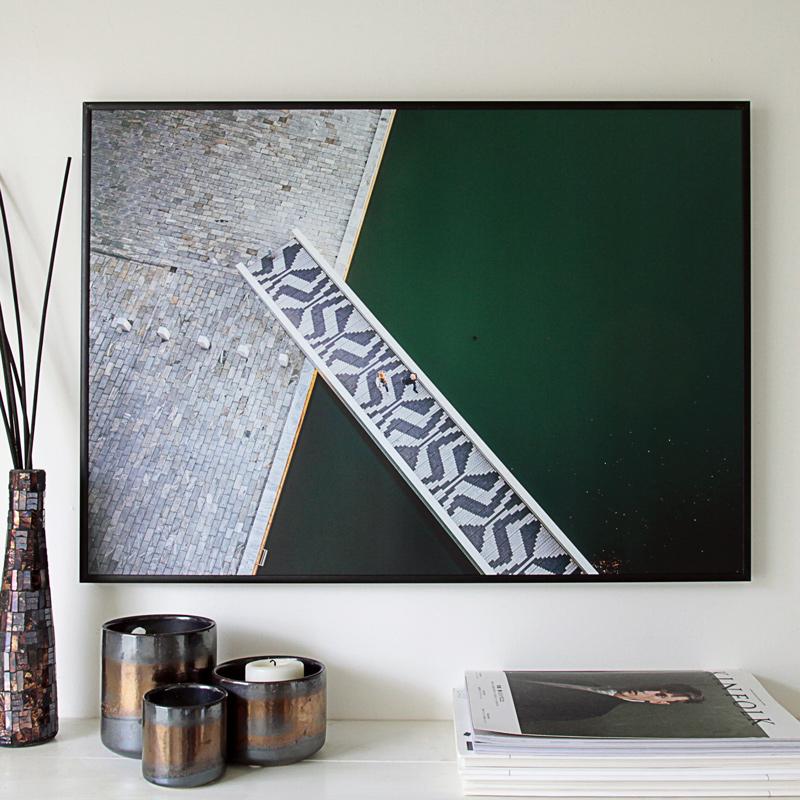 ペーパーコレクティブ ポスター Copenhagen Waterways 70×50cm