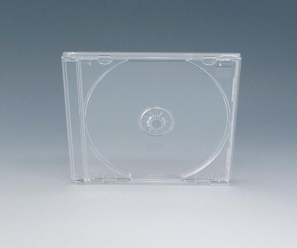 CDケース トレイ入(クリア) 200個  ジュエルケース・Pケース  国内最高品質