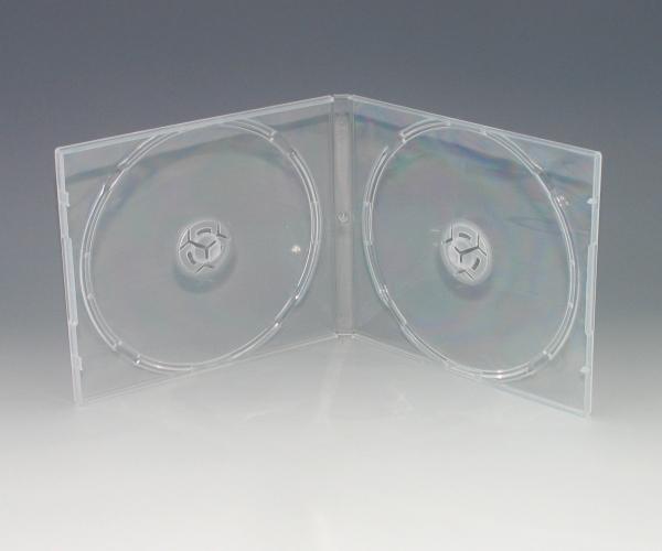 ジュエルケースと同じサイズ割れにくいPP樹脂素材 店内限界値引き中 セルフラッピング無料 DVD CD2枚用 100個 百貨店 PPケース