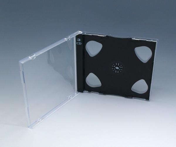 3ディスク PSケース 黒 200個
