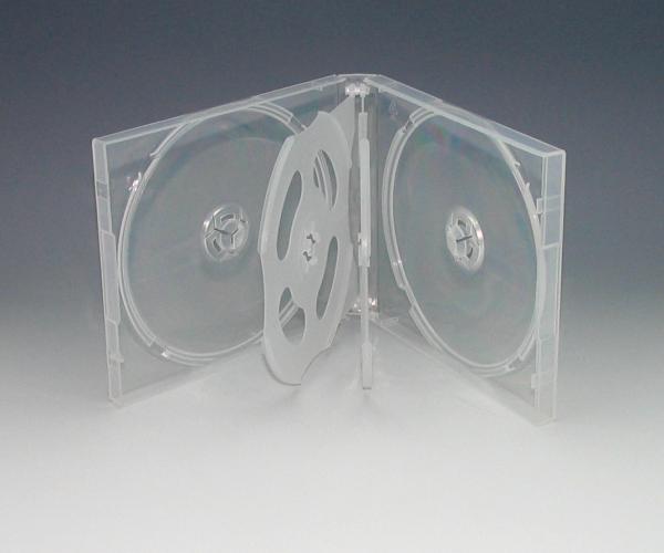 国内送料無料 PP樹脂製の6枚用ケース複数枚収納時に大活躍 お買い得なカートン販売 6枚用 PPケース 100個入 6枚収納CDケース 商店