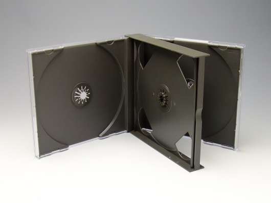 CD3枚用マルチケース  100個  /CDケース3枚用