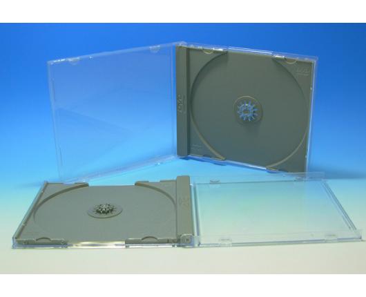 DVDジュエルケース(A型)グレー 200個 国内最高品質品