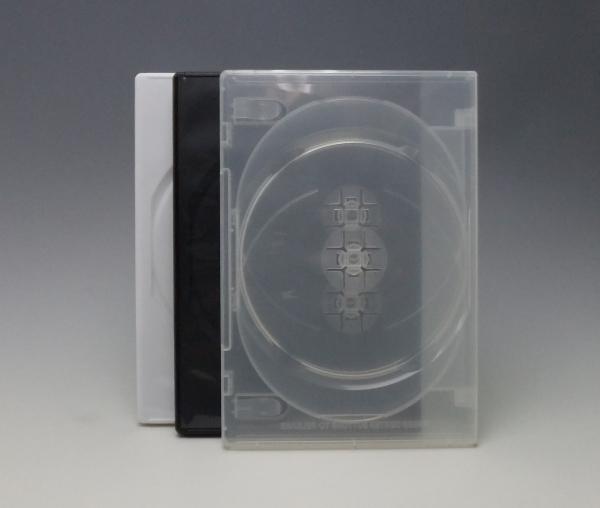 トールケース4枚用 /DVDケース4枚用 CDケース・ブルーレイ