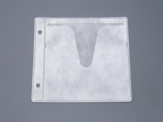 不織布CDケース用  2穴不織布ケース 4000枚 【値下げしました】