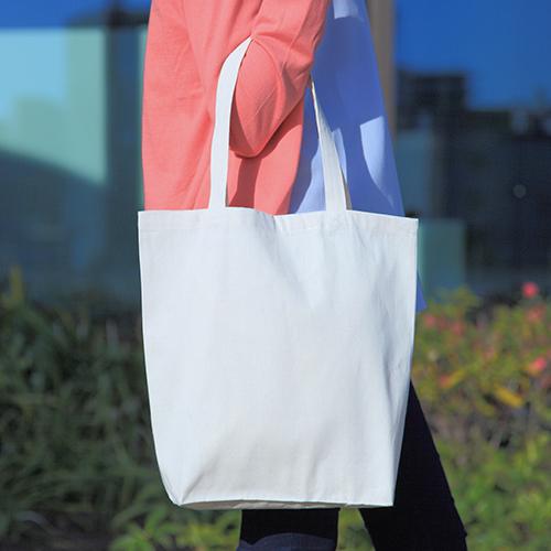 ライトキャンバスバッグM(マチ付き) 200枚 1枚233円→213円 ※値下げ無地・名入れプリント可能(トート・エコ)