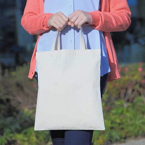 ライトキャンバスショッピングバッグ 200枚 1枚180円→170円 ※値下げ無地・名入れプリント可能(トート・エコ)