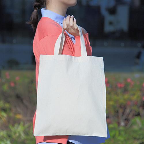 コットンショッピングバッグ 400枚 1枚95円→90円無地・名入れプリント可能(トート・エコ) ※値下げ