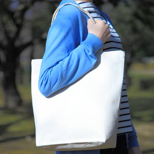 帆布エコバッグ 100枚 1枚264円→244円無地・名入れプリント可能(トート・エコ)
