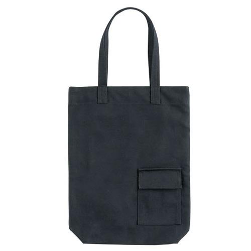 キャンバスエコバッグ(S) 黒または白 50枚 1枚@420円無地・名入れプリント可能(コットン・エコ)