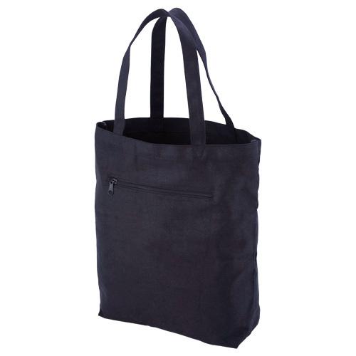 キャンバスエコバッグ(L) 黒または白 50枚 1枚420円無地・名入れプリント可能(コットン・トート)