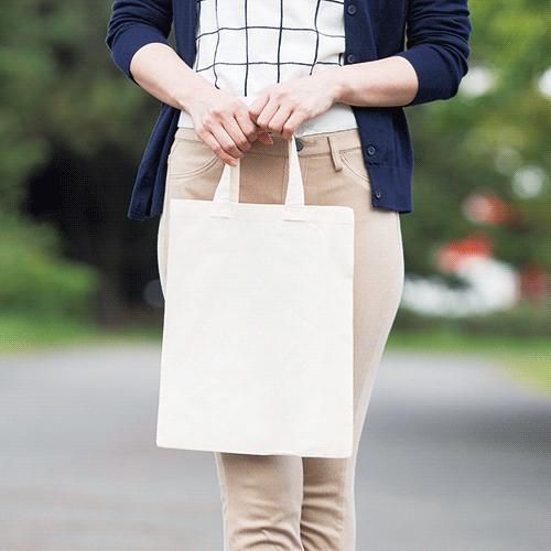 A4サイズ コットンバッグ  ナチュラル  200枚 1枚@76円無地・名入れプリント可能(トート・エコ)