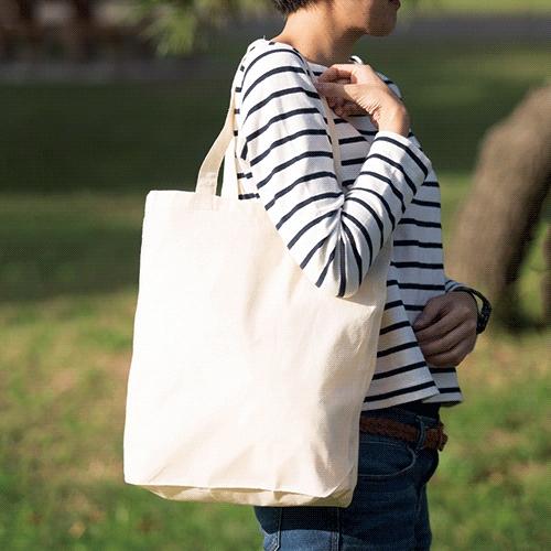 ぴったりサイズのコットンバッグ Mサイズ 200枚 1枚95円無地・名入れプリント可能(トート・エコ)