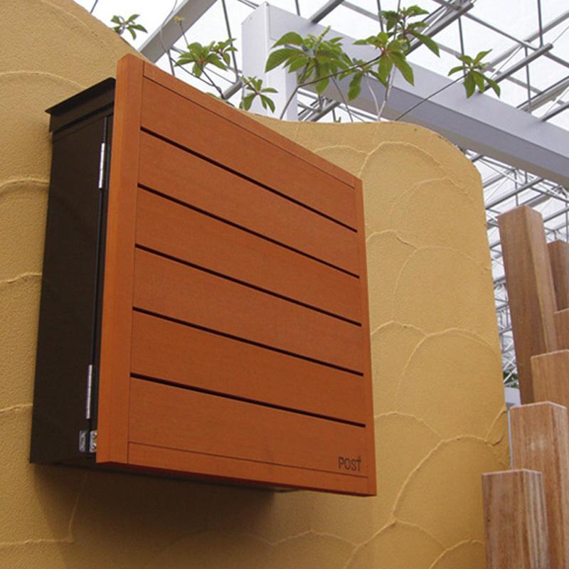 【高額売筋】 garden.shop ディーポスト 和モダンシリーズ(01・02)壁掛け型:koba-エクステリア・ガーデンファニチャー