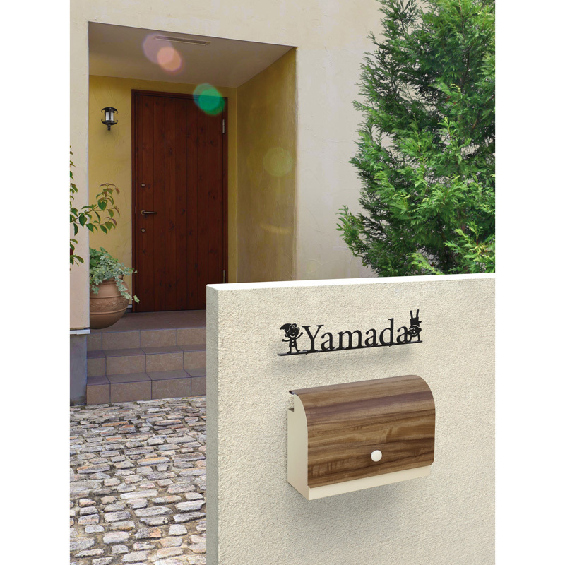 ティーポ グレイン 鍵付き玄関ポスト・デザインポスト・壁掛けポスト かわいい