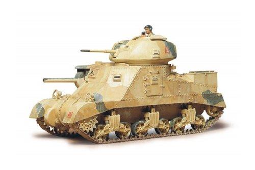 【中古】タミヤ 1/35 ミリタリーミニチュシリーズ No.41 イギリス陸軍 M3 グランド Mk.I 中戦車 35041