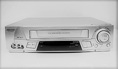 中古 シャープ 70%OFFアウトレット 定番キャンバス VC-HF830 VHSビデオデッキ