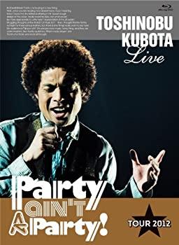 商い 中古 25th Anniversary Toshinobu 秀逸 Kubota Concert Tour 2012 ain't Disc Blu-ray A