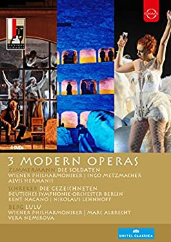 <title>中古 Salzburg Festival 3 お金を節約 Modern Operas DVD</title>